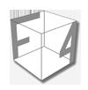Logótipo F4 Consultores cinza